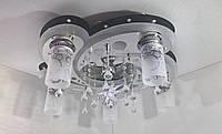 """Люстра потолочная """"Космос"""" с цветной LED подсветкой и автоматическим отключением YR-5533/5+1"""