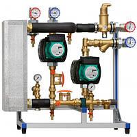 Насосная группа Meibes XXL с теплообменником 62 кВт (10-40 л/мин)