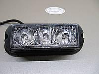 Фара вспышка , стробоскоп светодиодный LED 03В 12-24В