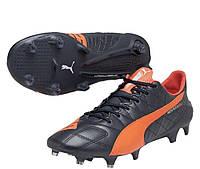 Бутсы футбольные Puma evoSPEED SL Lth  FG (арт. 103260-02)