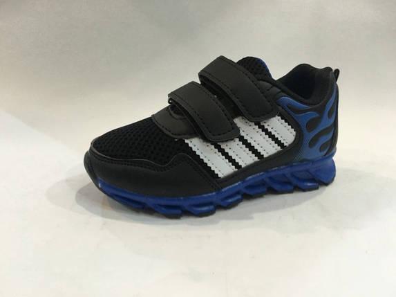 Детские черные кроссовки на мальчика Томм р.29, фото 2