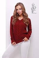 Красивые женские свитера Цветана-6 из шерстяной нити