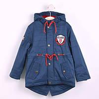Куртка парка для мальчика КТ 139 Бемби