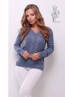 Красивые женские свитера Цветана-8 из шерстяной нити