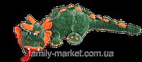Мягкая игрушка Дракон плюшевый зеленый 200 см, фото 1