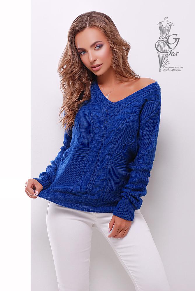 Красивые женские свитера Цветана-9 из шерстяной нити
