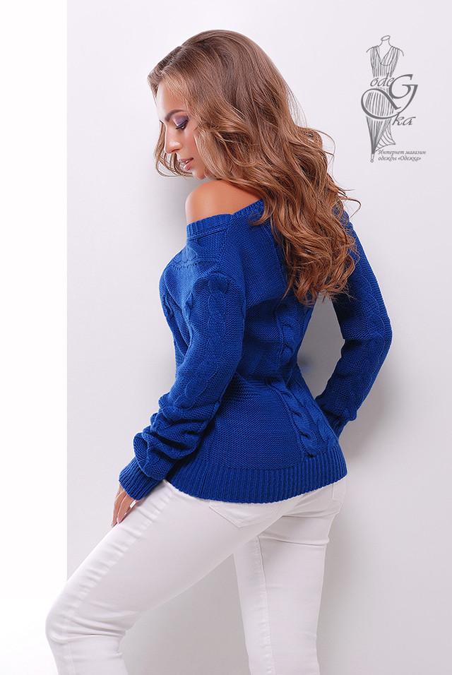 Фото-1 Красивых женских свитеров Цветана-9