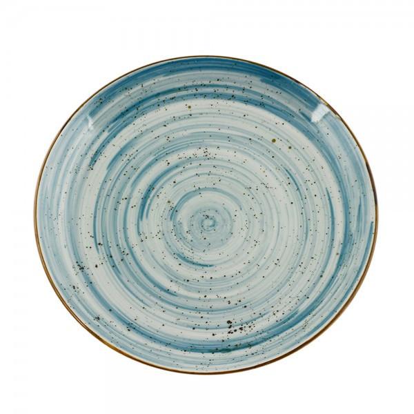 Тарелка круглая без борта 21см FARN Водоворот