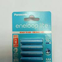 Аккумулятор мини-пальчиковый ААА Panasonic 1,2V 550mAh eneloop Lite (Ni-MH)