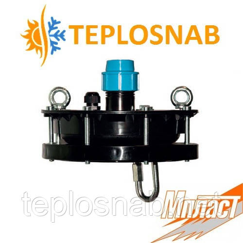 Оголовок для скважины 125 / 32 мм Мпласт