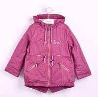 Куртка парка демисезонная для девочки КТ 144 Бемби