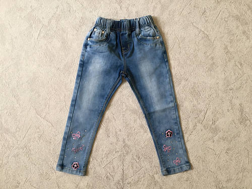 Джинсовые брюки для девочек SEAGULL 98-128 р.р.