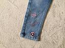 Джинсовые брюки для девочек SEAGULL 98-128 р.р., фото 2