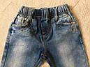 Джинсовые брюки для девочек SEAGULL 98-128 р.р., фото 3