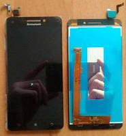 Дисплей для Lenovo A5000 + touchscreen, черный