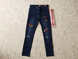 Джинсовые брюки для девочек  GRACE 134-164 р.р.