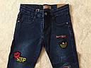Джинсовые брюки для девочек  GRACE 134-164 р.р., фото 2