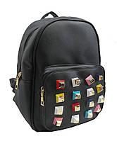 Кожаный женский рюкзак. Новинка. Выбор. Женская кожаная сумка. ЗР02