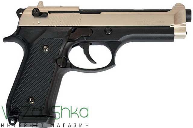 Стартовый пистолет Retay mod 92 satin-black