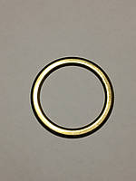 Кольцо антик плоское литое 30х6мм