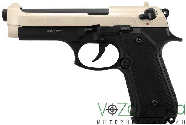 пистолет под холостой патрон 9 мм Retay Mod 92 satin-black