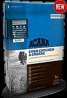 Сухой корм ACANA Cobb Chicken&Greens / Акана для взрослых собак с курицей и зеленью / 17.0kg