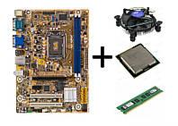 Комплект Мат. плата s1155 +  Intel Core i3 2130 (3,4GHz) + DDR3 8G