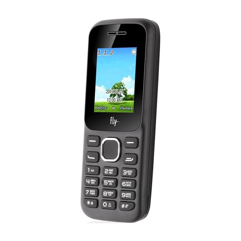 Телефон кнопочный Fly FF178 чёрный