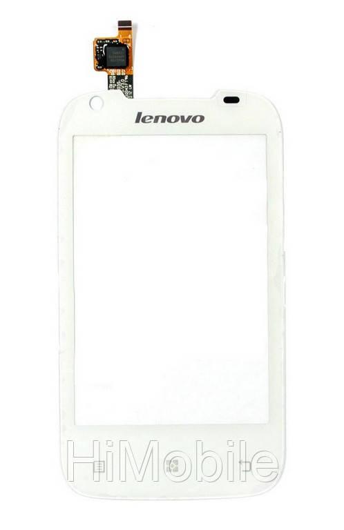 Тачскрин сенсор Lenovo A360 белый