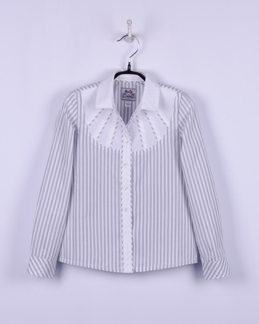 Блуза для девочки BoGi Стиль, полоска (р.116/122)