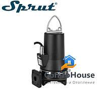 Дренажно-фекальный насос Sprut CUT 2,6-7-28 TA + блок управления