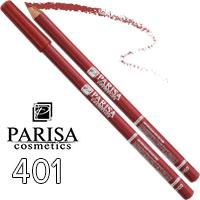 Parisa - Карандаш для губ Professional Ultra Long Lasting Тон 401 pink caramel матовый