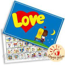 "Шоколадный набор ""Love is"" 200 г (40 плиток)"
