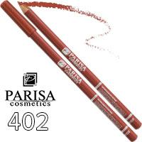 Parisa - Карандаш для губ Professional Ultra Long Lasting Тон 402 caramel матовый