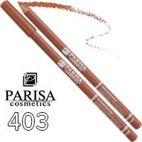 Parisa - Карандаш для губ Professional Ultra Long Lasting Тон 403 natural матовый