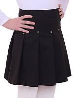 Школьная юбка для девочки Линда, синий (р.122,128,134)