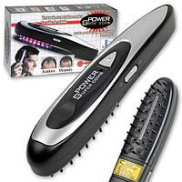 Лазерная расческа против выпадения волос Power Grоw + косметический набор