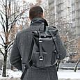 Большой рюкзак Mount из натуральной кожи, фото 6