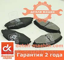 Колодки гальмівні Ланос 1.3-1.5 СЕНС, МАТІЗ, CHERY QQ передні
