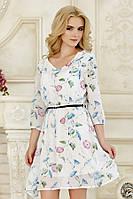 Платье Белые цветы