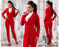 Деловой  модный  костюм  -  9759