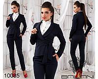 Деловой  модный  костюм  -  10035