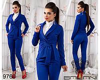 Деловой  модный  костюм  -  9760