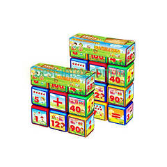 Кубики «Математика» (12 шт.)