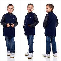 Кашемировое пальто для мальчика на пуговицах