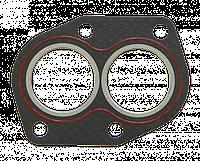 Прокладка трубы приемной ВАЗ 2101-07,08,09,099 безасб. с герм. (пр-во ВАТИ,г.Волжский)