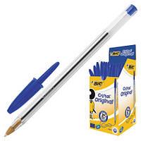 Ручка шариковая 1,0 мм, синяя, Bic Cristal, 001060