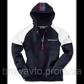 Женская толстовка BMW Motorsport Hoodie, Ladies, Blue/White