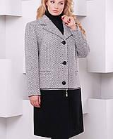 Женское пальто трансформер больших размеров (Бернtn)