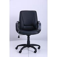 Кресло Лига Пластик Флекс-кожа черная Лайт (AMF-ТМ)